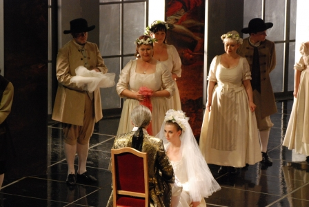 """Le Nozze di Figaro"" - W.A.Mozart ""Le Nozze di Figaro"". Spectacle took place at the Opera House in Cracow. 22.05.2014. The Role of Susanna."